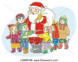 Descrizione Di Babbo Natale Per Bambini.Babbo Natale Incontra I Bambini Lungo Le Vie Di Tarvisio