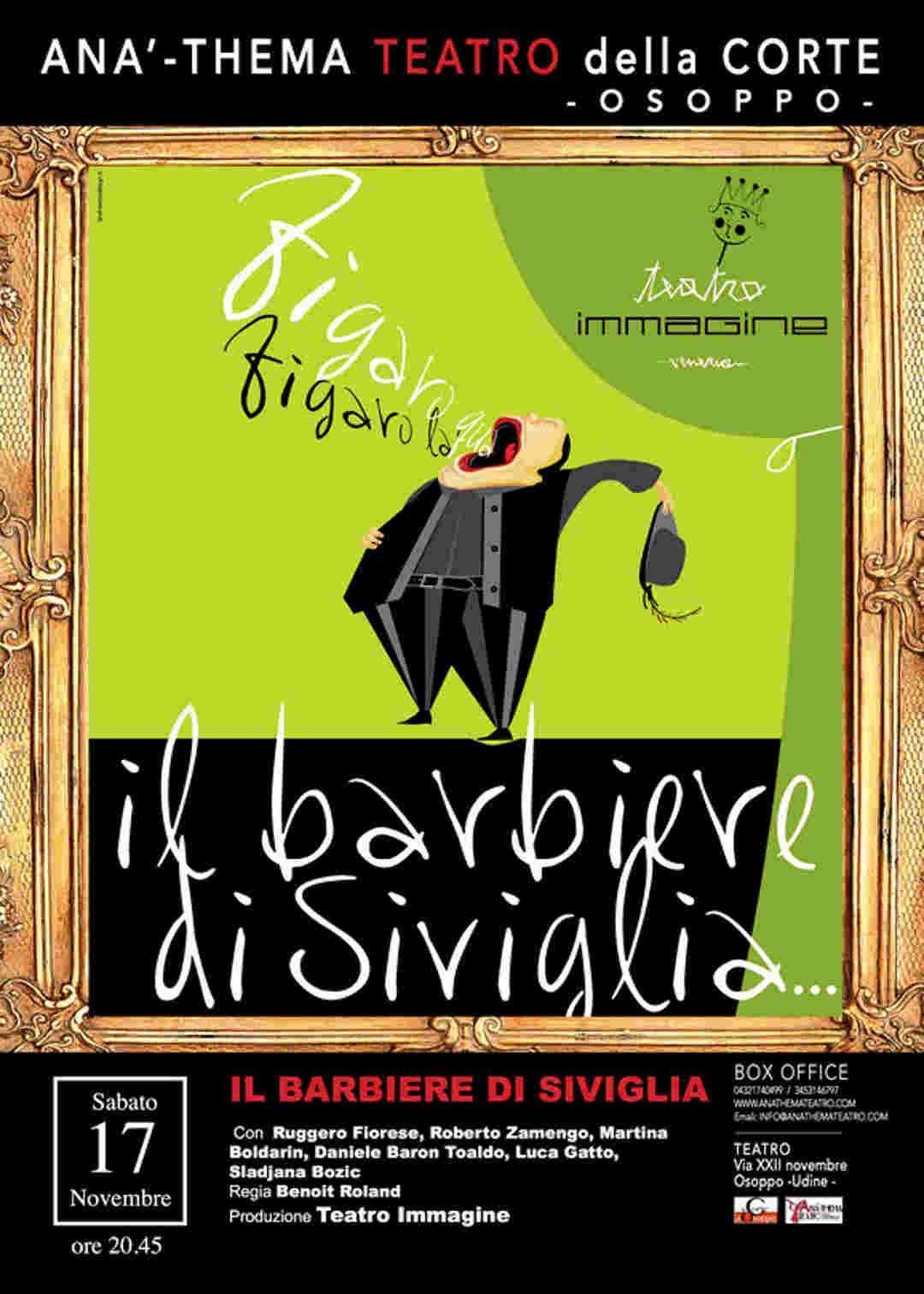 """""""Il Barbiere di Siviglia"""", con Teatroimmagine"""