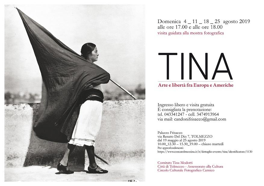 Visite guidate alla Mostra: Tina Arte e libertà fra Europa e Americhe
