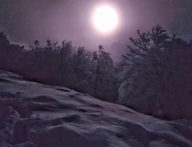 Vivi l'inverno nelle Alpi Carniche e Dolomiti Friulane: Crepuscolo Zahre
