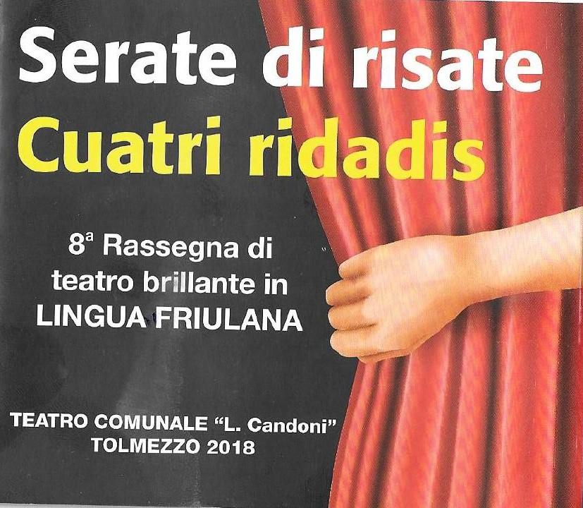 Teatro brillante in lingua friulana - Serate di risate: Gildo