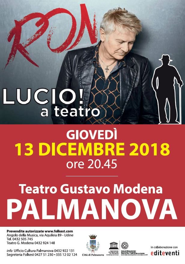 """Ron - """"Lucio! a teatro"""""""