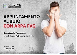 Appuntamento al buio con Arpa Fvg