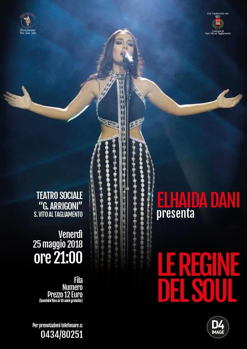 """Elhaida Dani presenta """"Le regine del soul"""""""