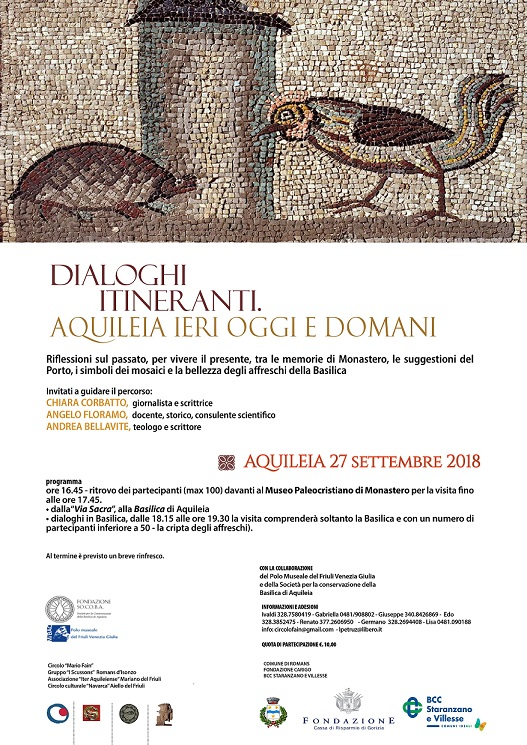 Dialogo itineranti. Aquileia ieri, oggi e domani.