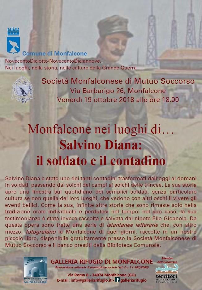 Monfalcone nei luoghi di...Salvino Diana il soldato e il contadino