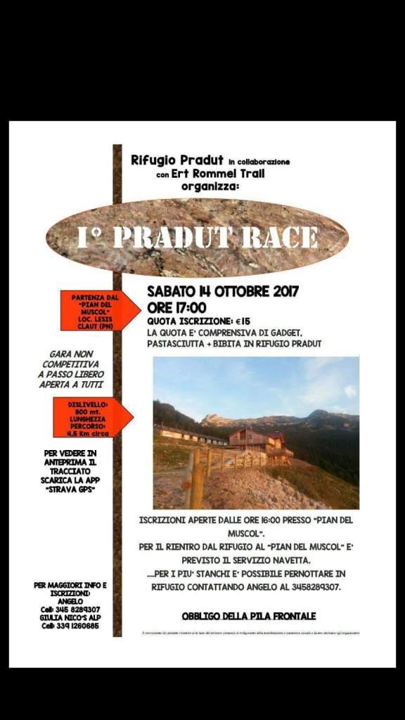 1° Pradut Race