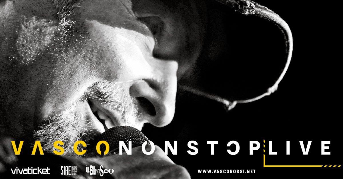 Vasco Rossi Non stop Live 2018