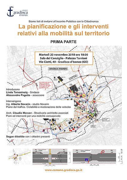 La pianificazione e gli interventi relativi alla mobilita` sul territorio