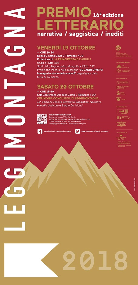 16^ Edizione Premio Leggimontagna - premiazioni