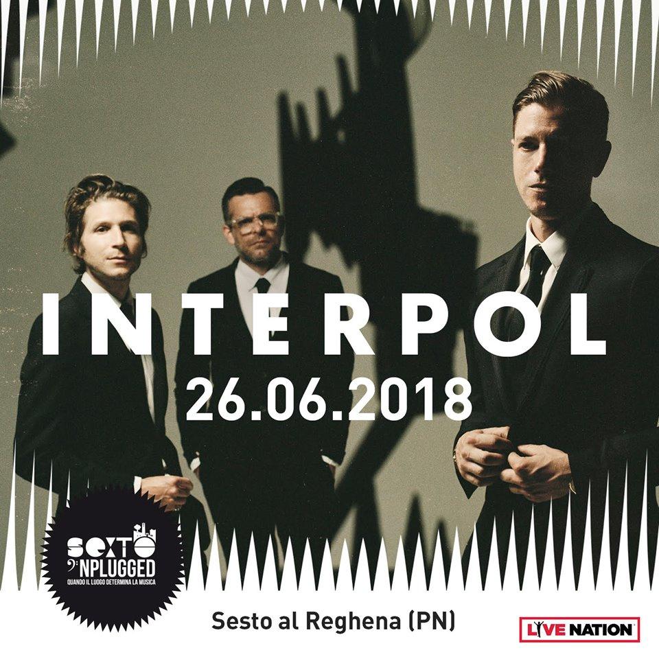 Sexto 'Nplugged: Interpol