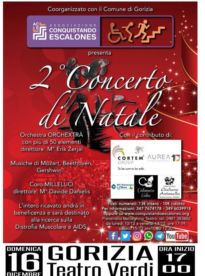 Conquistando Escalones - Concerto di Natale