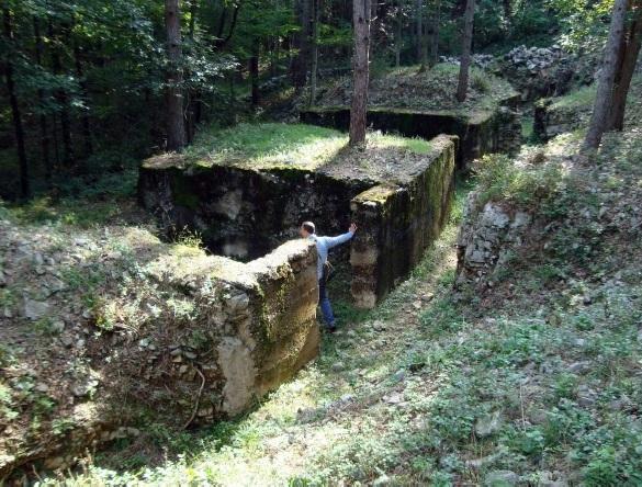 Visita del Parco Tematico della Grande Guerra di Monfalcone