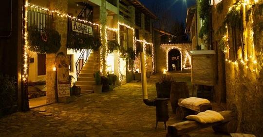 I Presepi Di Preplans: Fiabe In Borgo