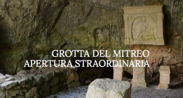 Grotta del Mitreo, apertura straordinaria
