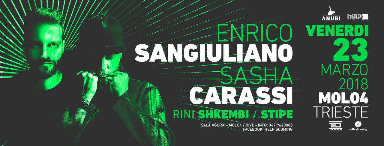 Helpiscoming with Enrico Sangiuliano e Sasha Carassi