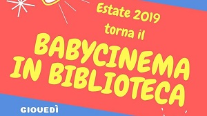 Babycinema in biblioteca