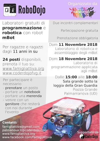 RoboDojo - Laboratorio di programmazione e robotica