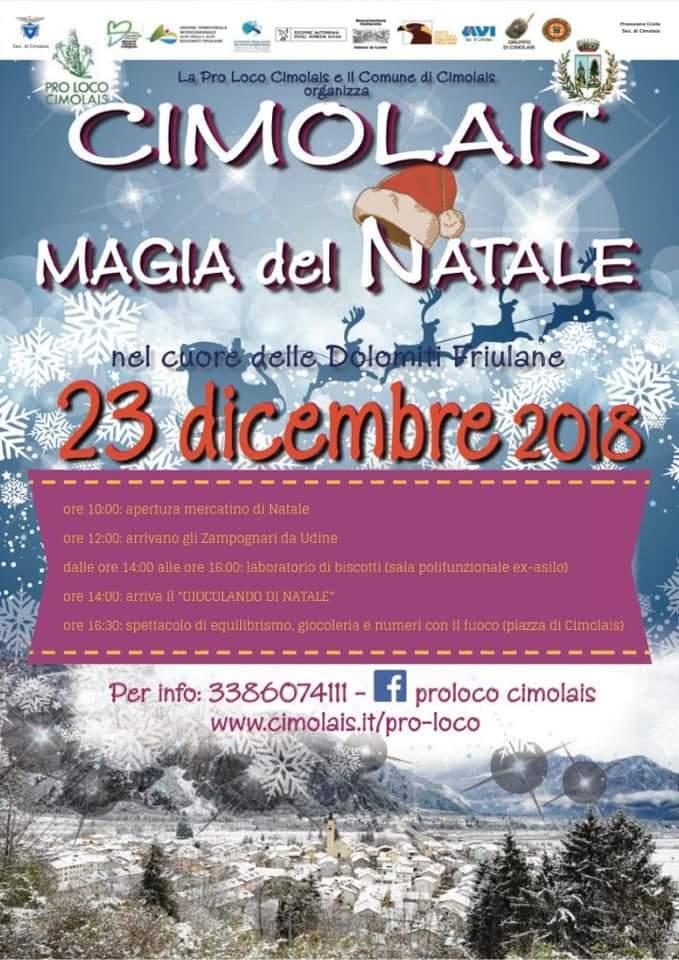 La magia del Natale a Cimolais