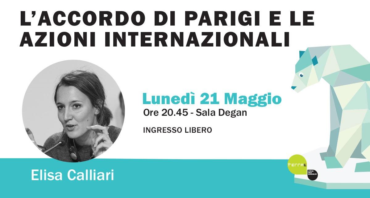 Terraè. L'accordo di Parigi e le azioni internazionali con Elisa Calliari.