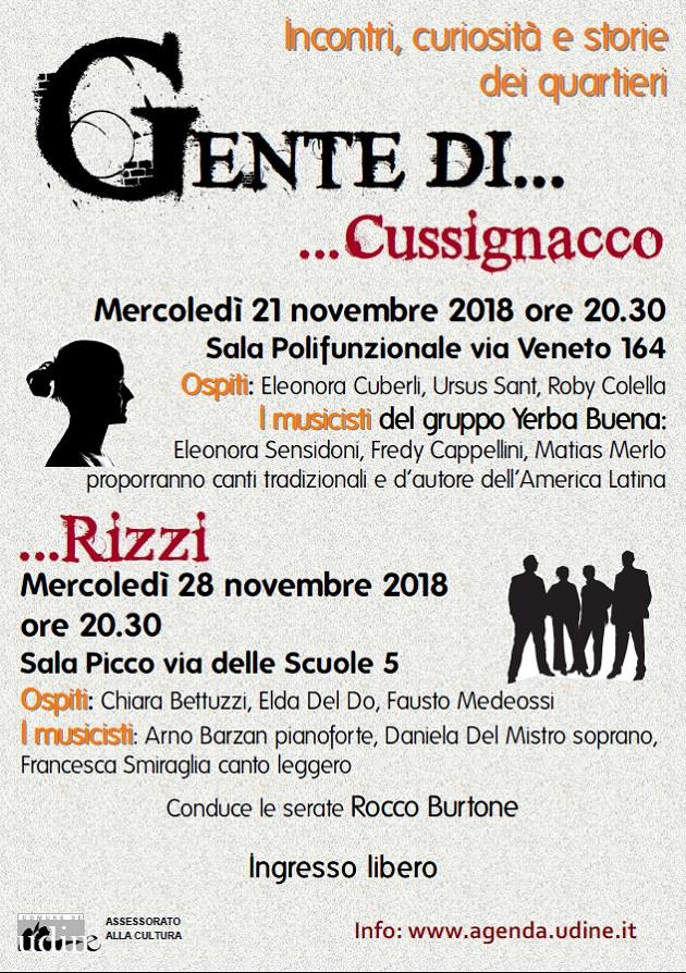 Gente di Udine - Gente di Cussignacco