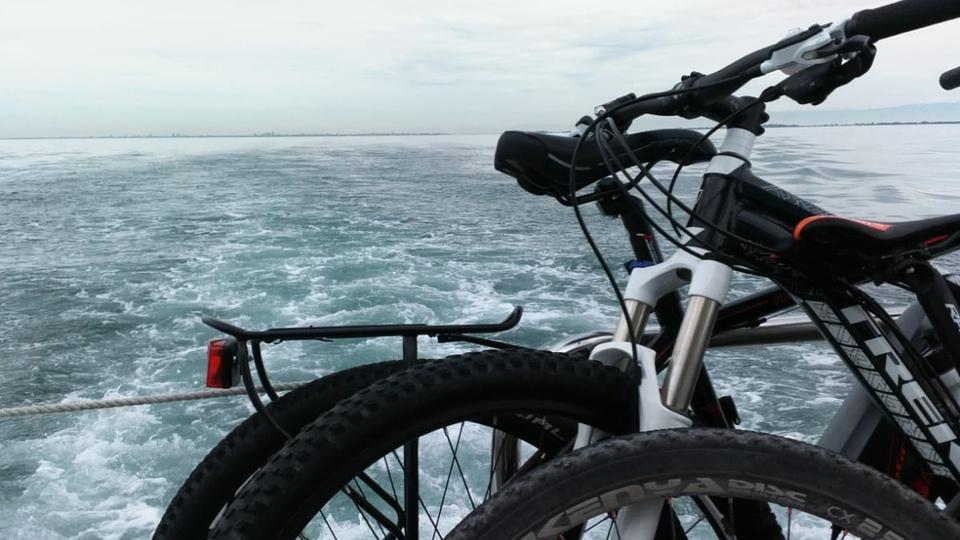 Escursione in bicicletta e barca a Grado