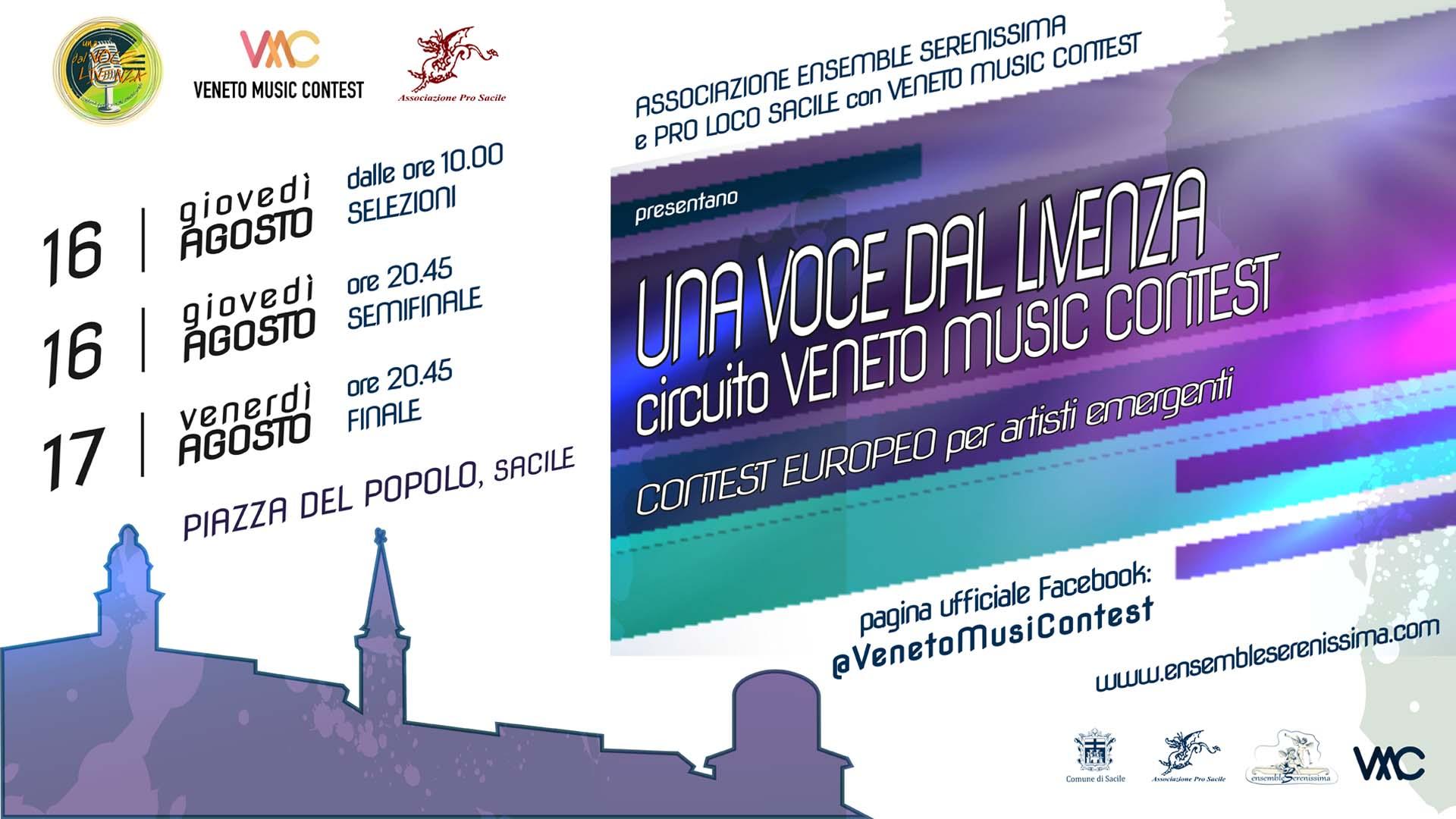 Una Voce dal Livenza: circuito Veneto Music Contest