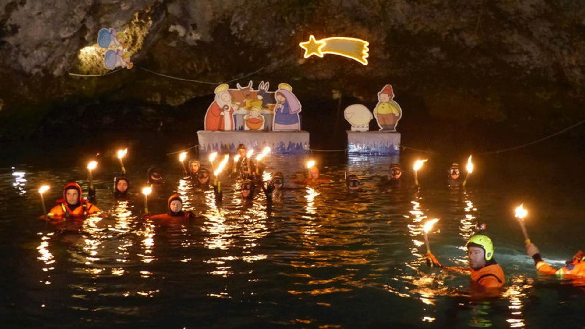 42ª Messa di Natale Sub al Gorgazzo
