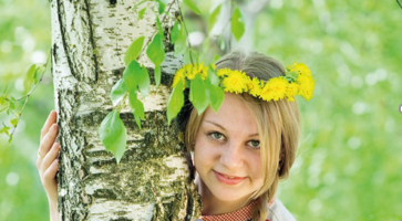 Festa della raccolta della linfa di betulla