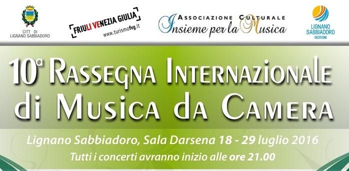 10a rassegna internazionale di musica da camera for Rassegna camera