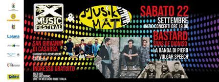 X Music festival e Musikemate