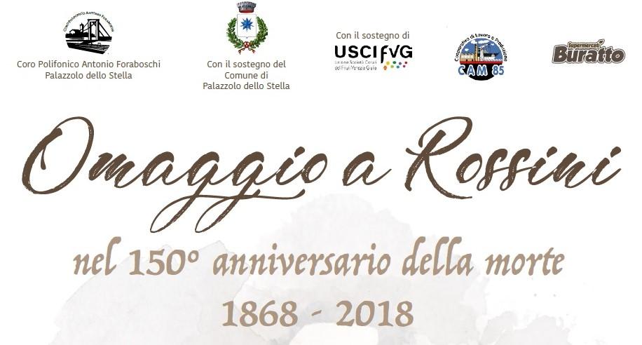 Omaggio a Rossini nel 150° anniversario della morte 1868 - 2018