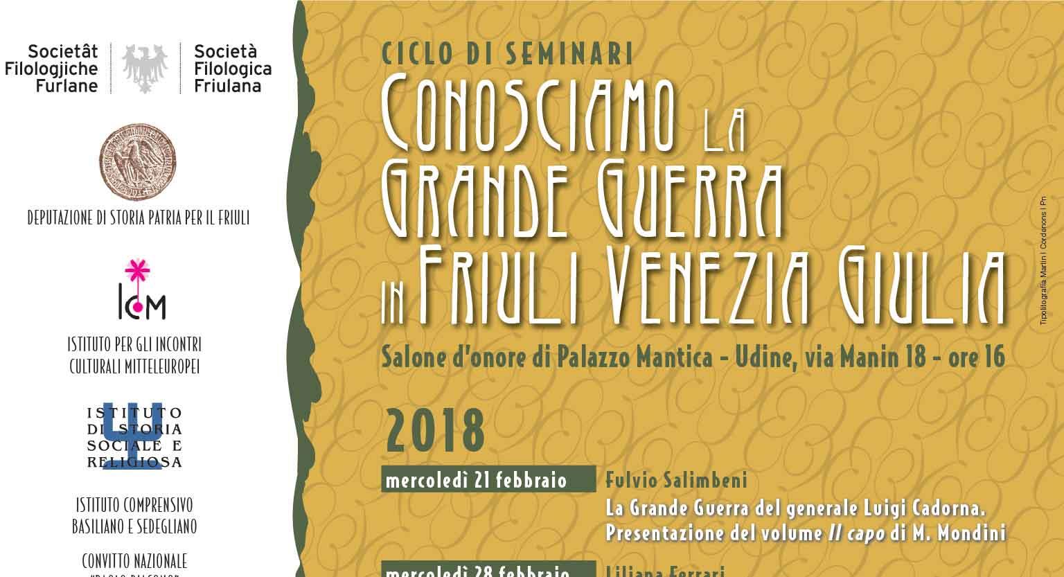 """""""Conosciamo la Grande Guerra in Friuli Venezia Giulia"""""""