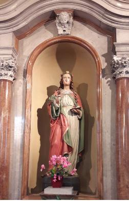 Parrocchia di San Rocco -S. Lucia, festa della luce