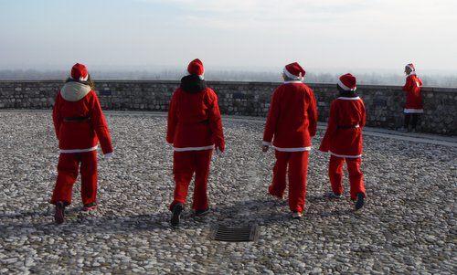 Marcia dei Babbo Natale