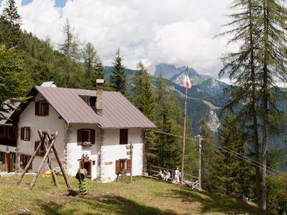 Vivi la natura delle Alpi Carniche e Dolomiti Friulane - Il rifugio della Val di Giaf