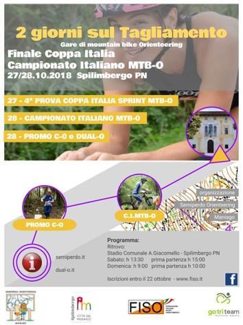 Finale coppa Italia. Campionato Italiano MTB