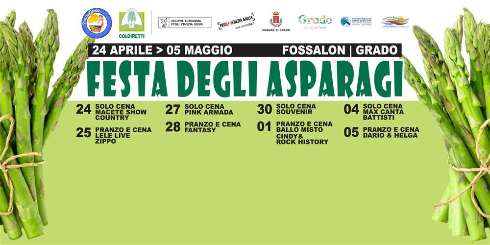 33^ Festa degli asparagi di Fossalon