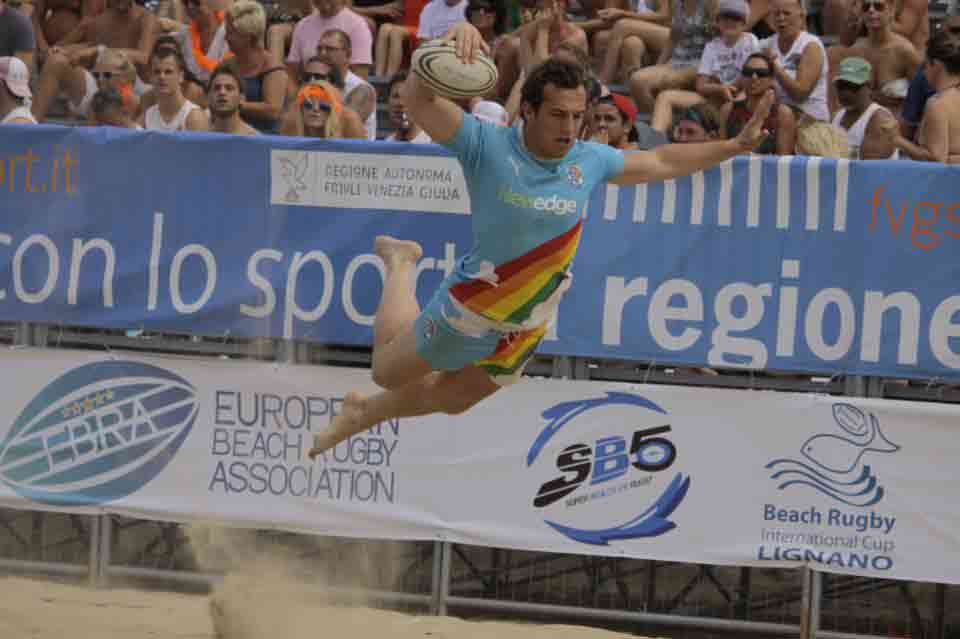 International beach rugby 2018