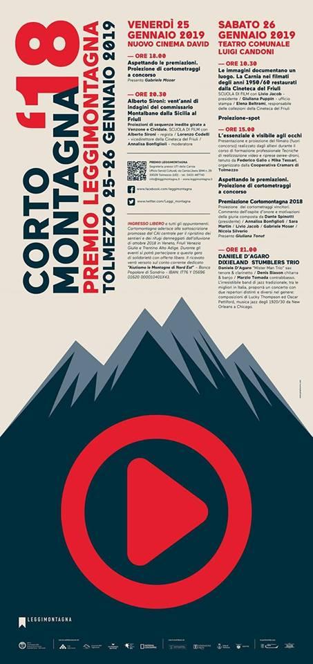 Al cinema con Leggimontagna: Cortomontagna