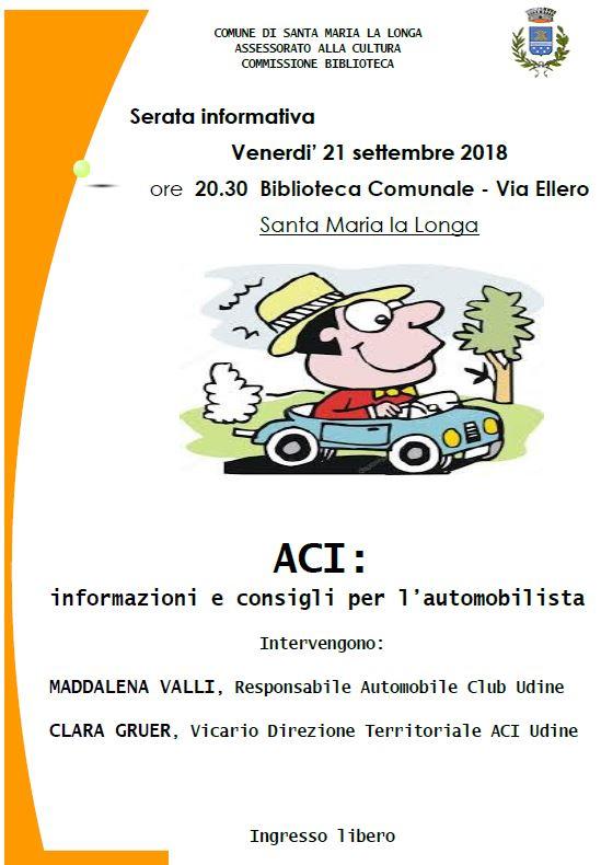 ACI: informazioni e consigli per l'automobilista