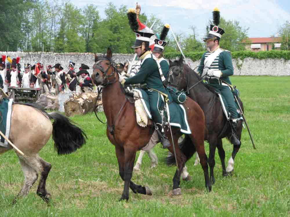 Rievocazione della battaglia napoleonica