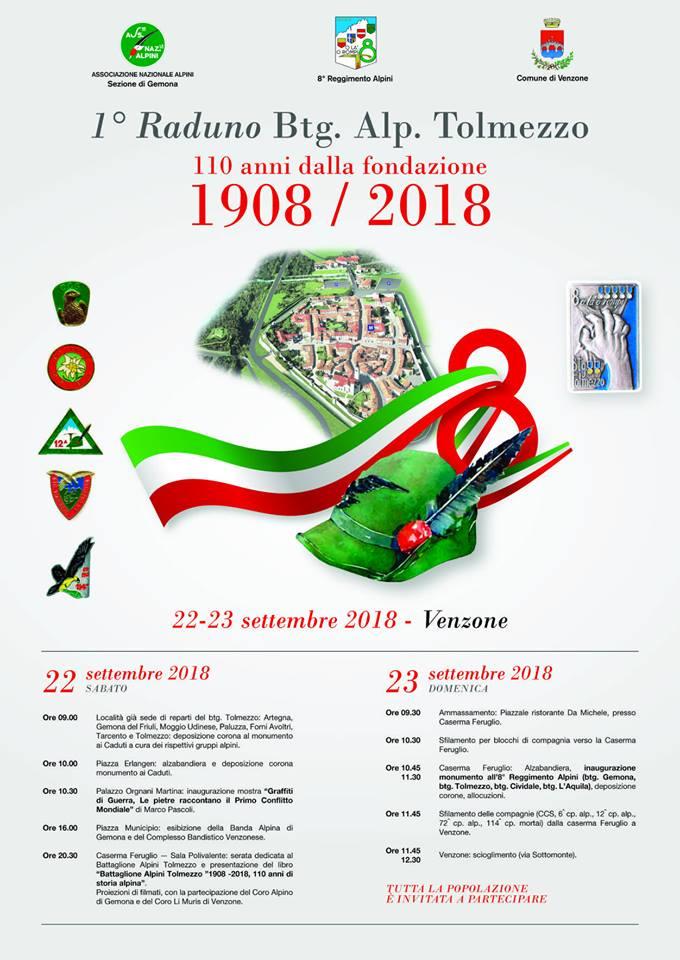 1° Raduno Battaglione Alpini Tolmezzo