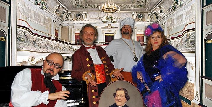 """Teatro Insieme 2018/2019: """"Non toccatemi Rossini"""""""