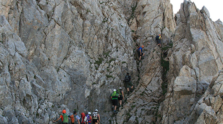 Attività alpinistiche con guide alpine