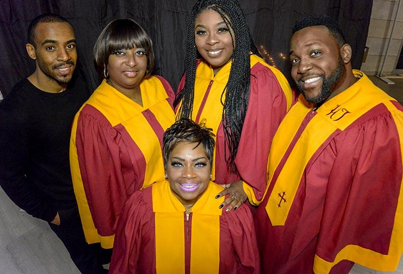 GospeLive Festival. Deborah Moncrief & Millenium Gospel Singers (USA)
