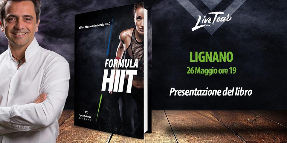 """Presentazione del libro """"Formula HIIT"""""""