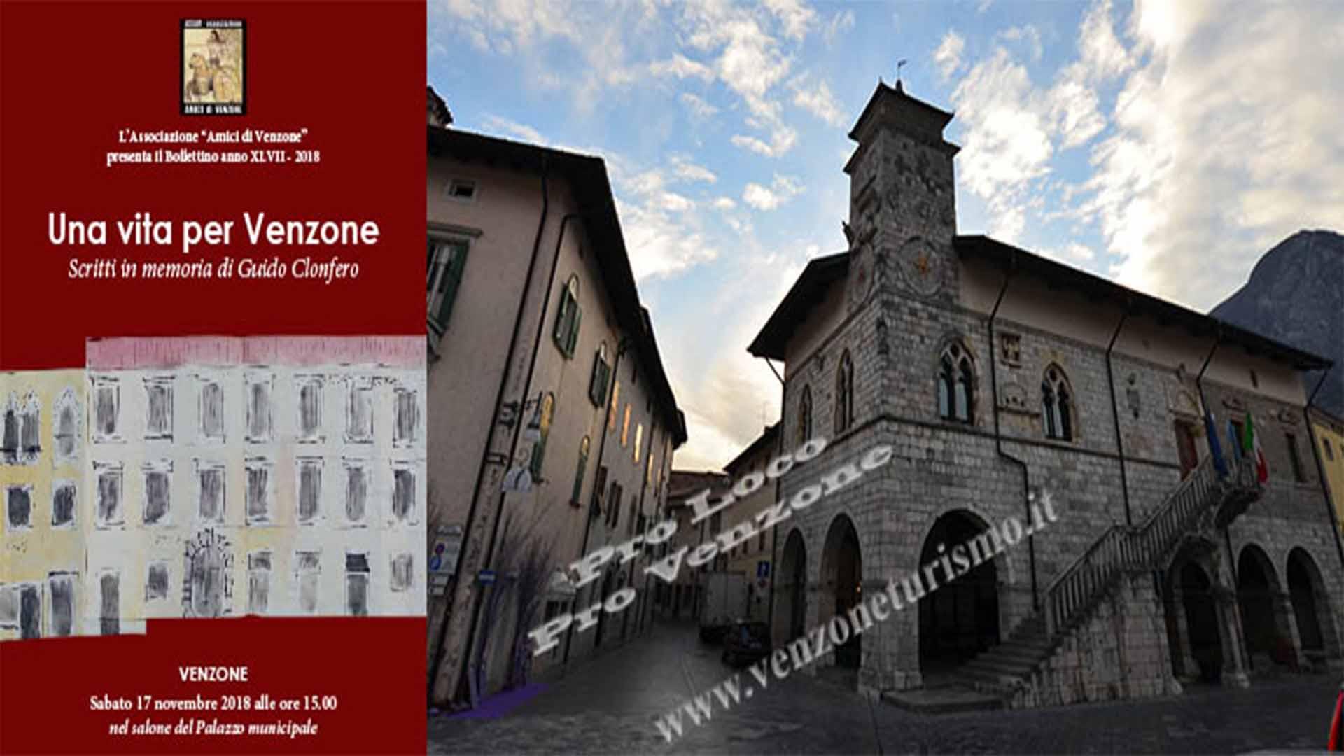 Guido Clonfero: Una vita per Venzone
