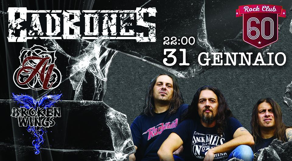 Bad Bones - Rock to rock Club 60