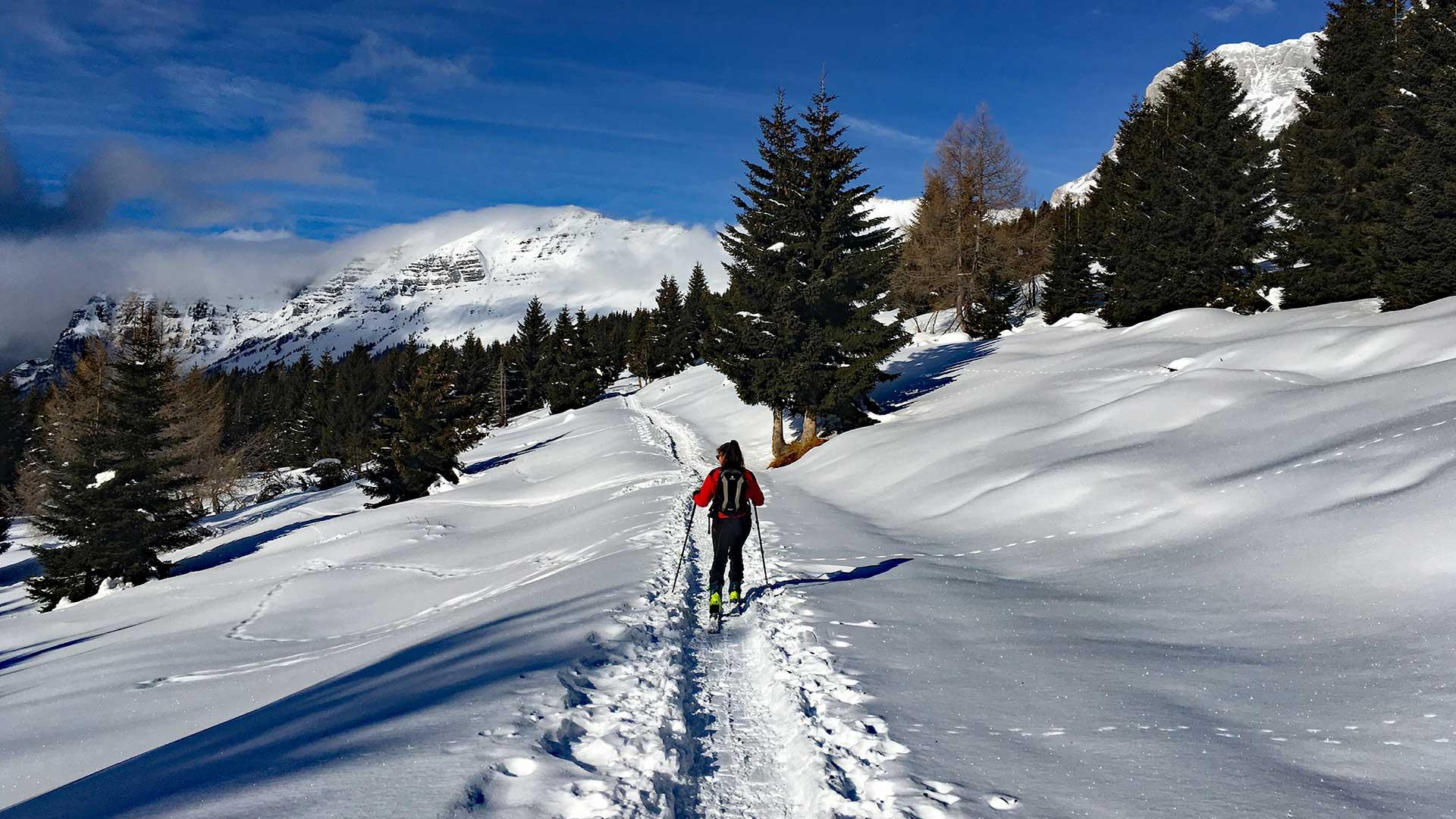 Escursioni Invernali Parco Naturale Prealpi Giulie: Gusto invernale della Riseva